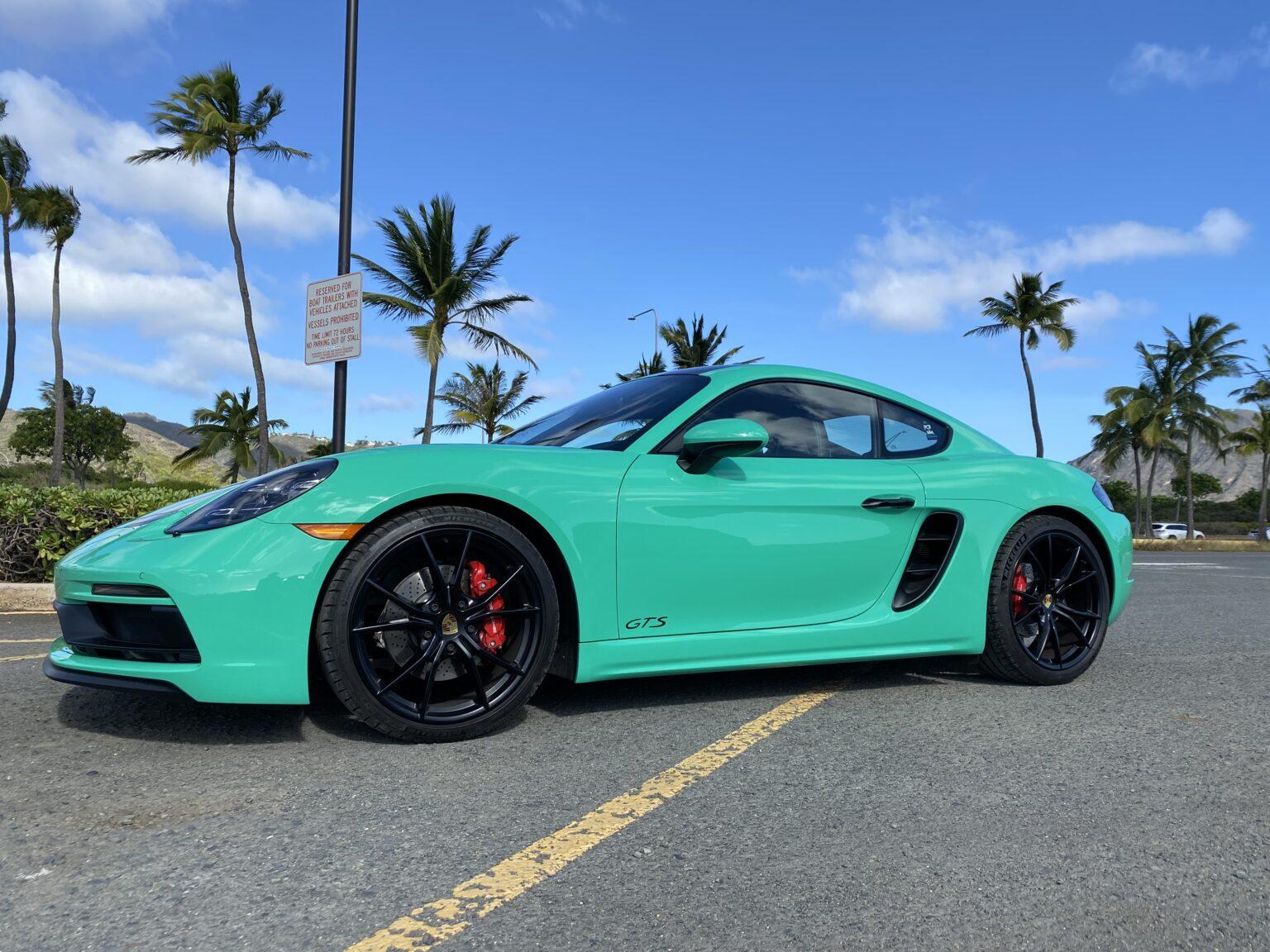 Porsche Cayman GTS2