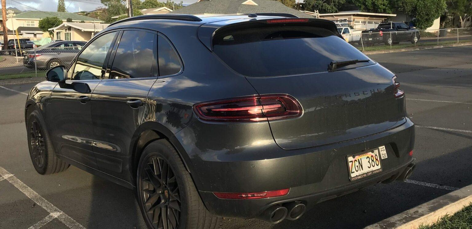 Porsche Macan2018 GTS Backside