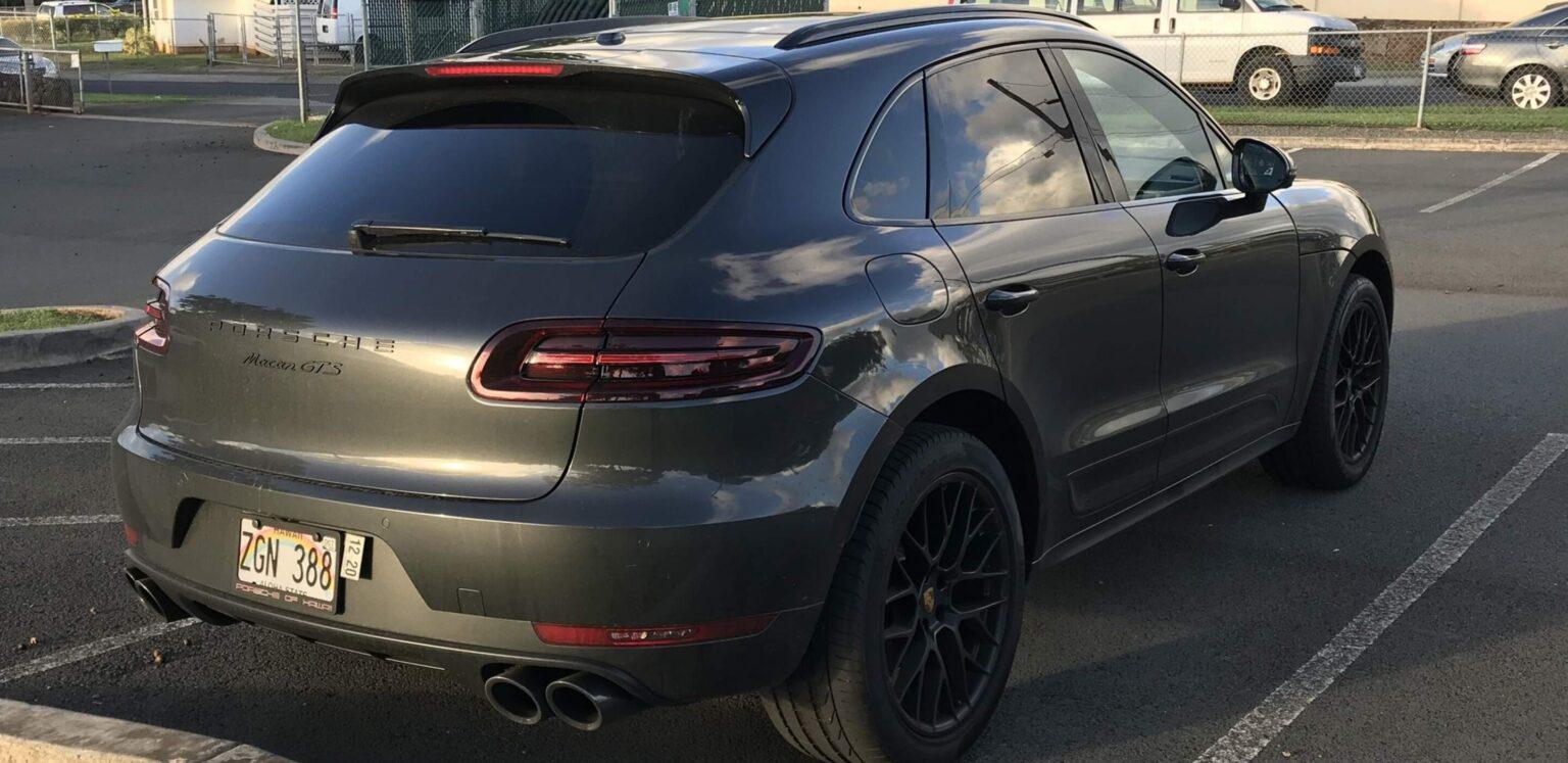 Porsche Macan2018 GTS Rear
